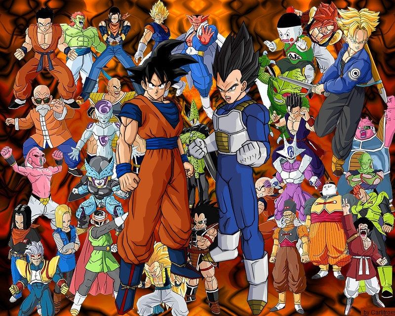 todas las sagas dragon ball z y