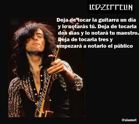 10 frases de Jimmy Page